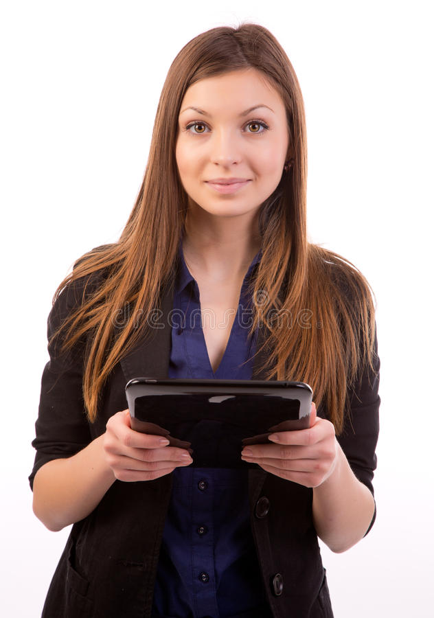 Download Woman with tablet computer stock image. Image of person - 29311345