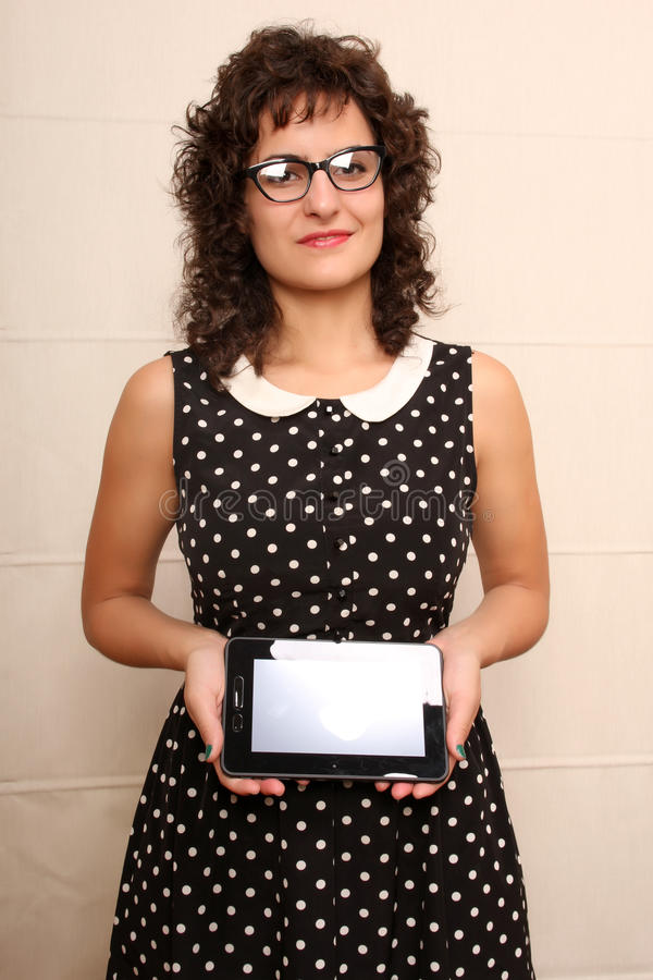 Download Woman With A Tablet PC Stock Photos - Image: 33060433