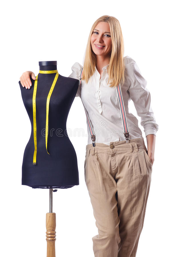 Download Woman tailor working stock image. Image of design, clothes - 28350217