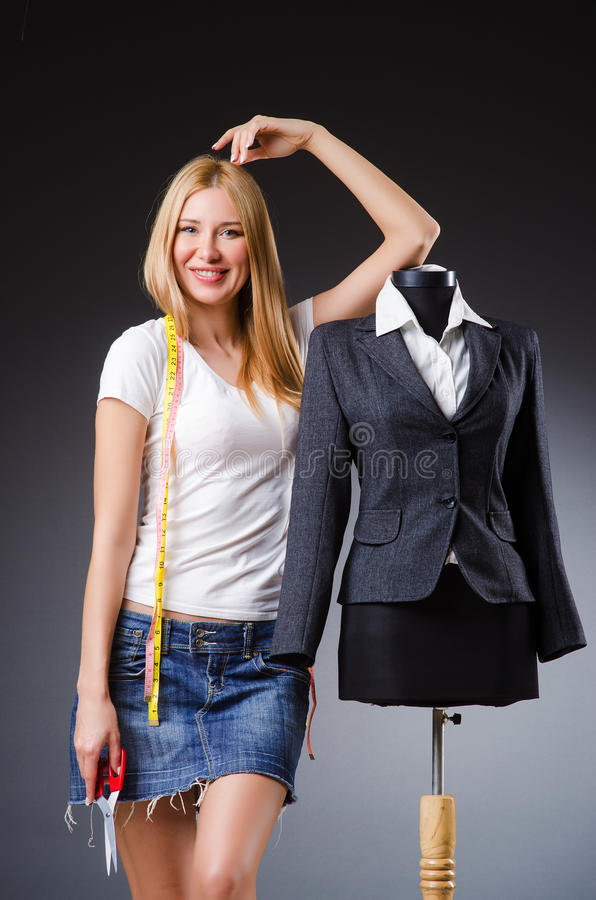 Download Woman tailor stock photo. Image of figure, mannequin - 34664976