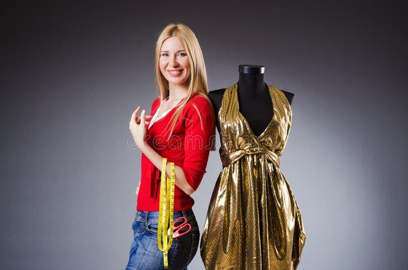Download Woman tailor stock photo. Image of material, meter, garment - 34664994