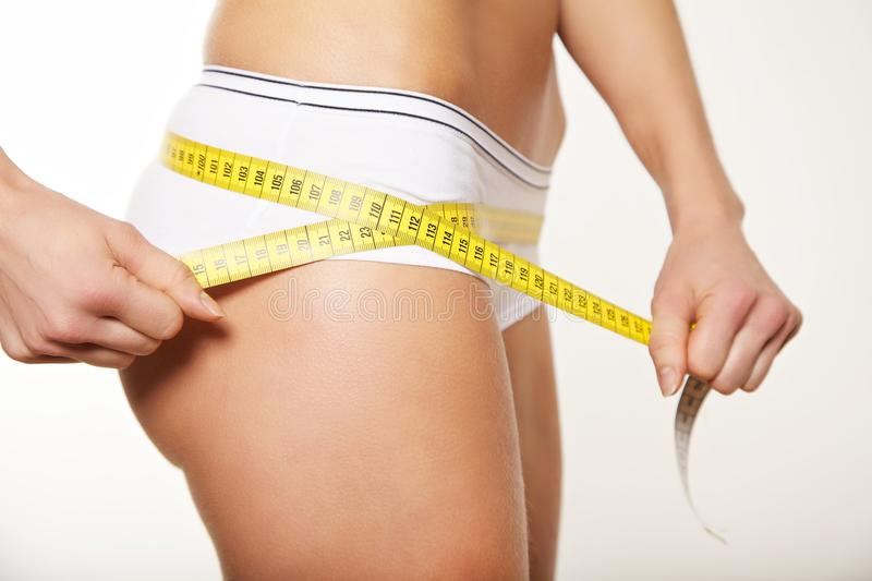 Download Woman taking measurements stock photo. Image of people - 27780480