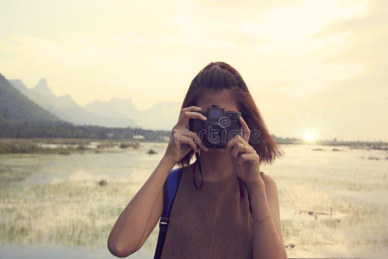 Woman Taking Photo Free Public Domain Cc0 Image