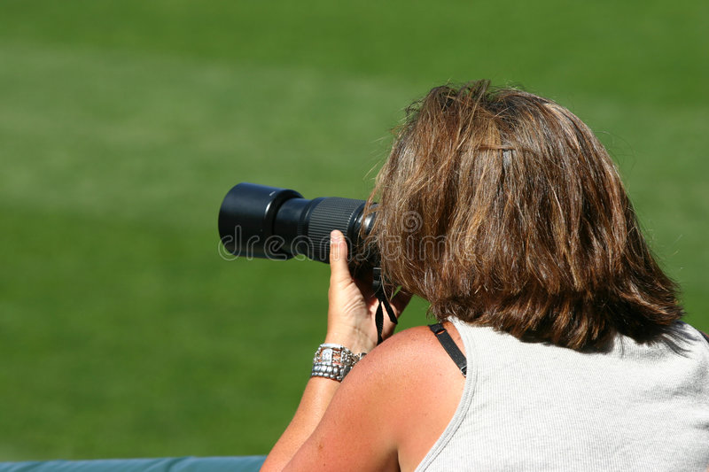 Download Woman Taking Photographs Stock Photos - Image: 199053