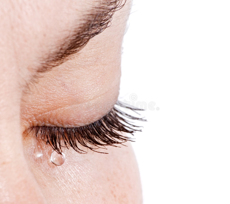 Woman In Tears Royalty Free Stock Images