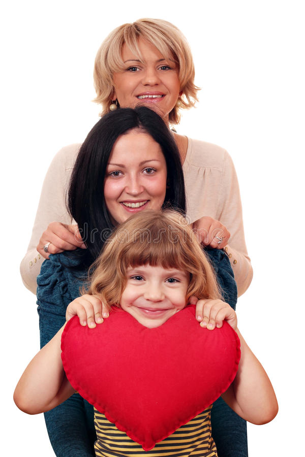 Download Woman Teenage And Little Girl Stock Photo - Image: 27670180