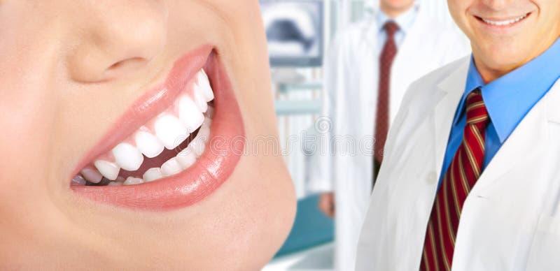 Woman teeth royalty free stock photography