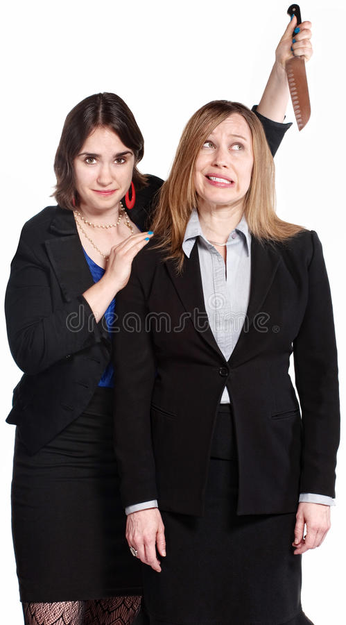 Download Woman Threatening Coworker stock photo. Image of employee - 25629468