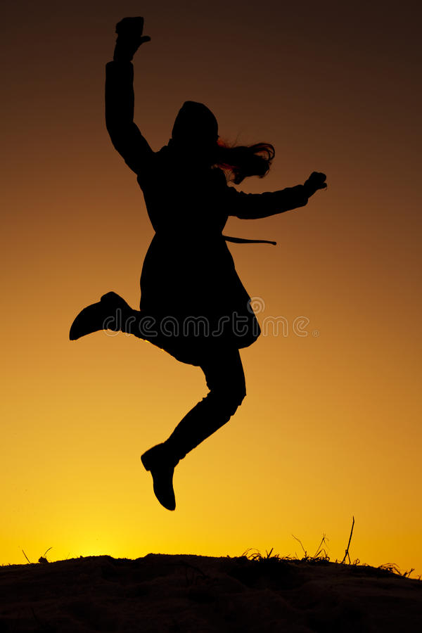 Download Woman On The Top Royalty Free Stock Photography - Image: 23090717