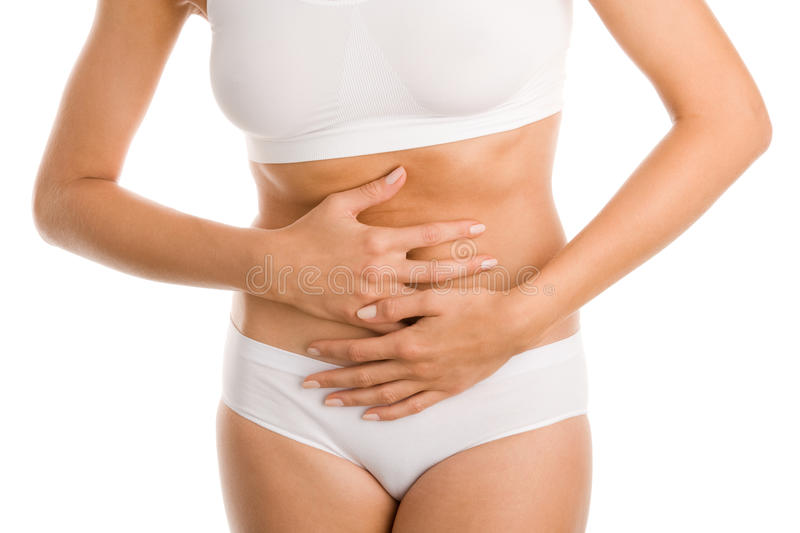 Download Woman With Stomach Ache Royalty Free Stock Photography - Image: 19607827