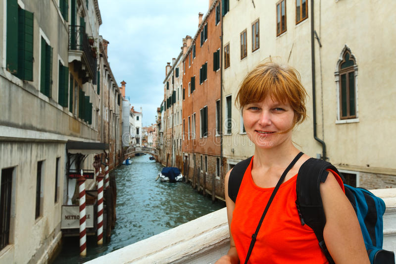 Download Woman tourist in Venice stock photo. Image of italian - 22631040