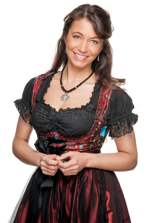 Download Woman With Traditional Skirt Stock Photo - Image: 25781266