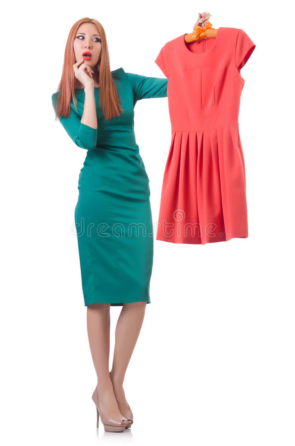 Download Woman Trying New Clothing Stock Images - Image: 33136044