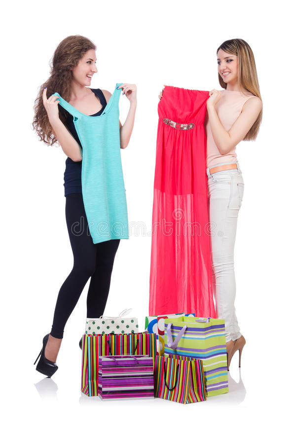 Download Woman trying new clothing stock image. Image of person - 33136299