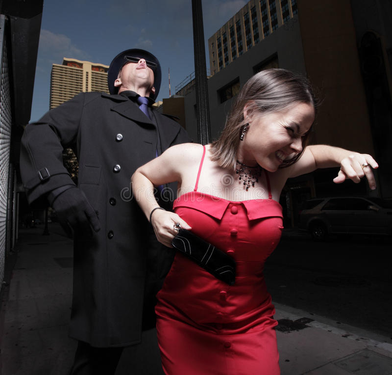Download Woman Trying To Escape Stock Photos - Image: 14107393