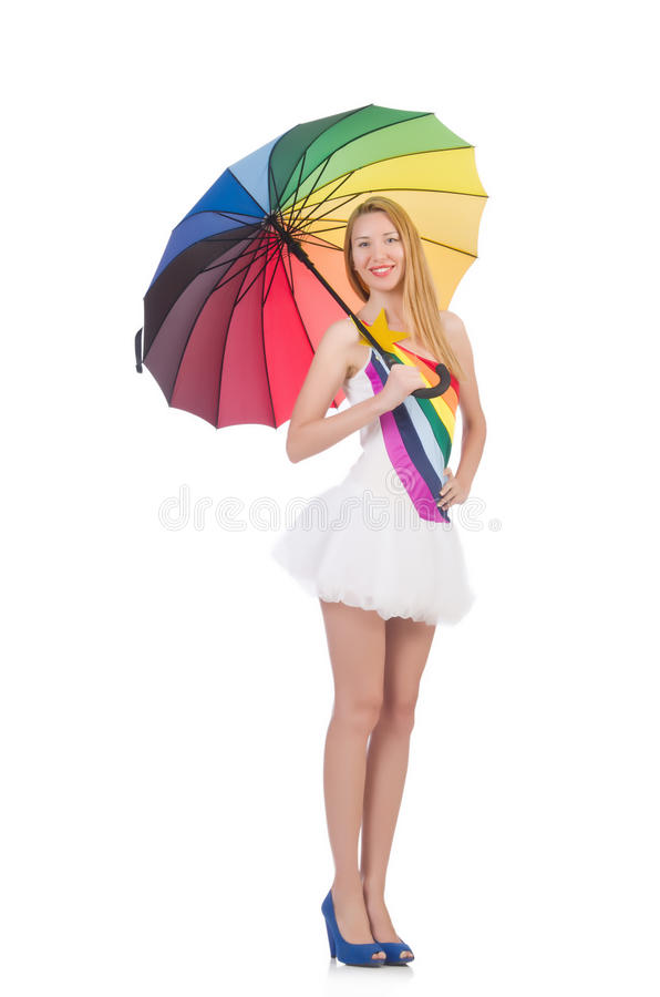 Download Woman with umbrella stock image. Image of elegance, fashion - 34469523