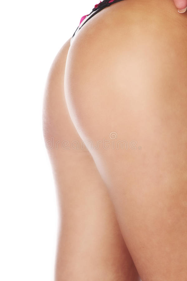 Download Woman In Underwear On White Background Stock Image - Image: 29030281