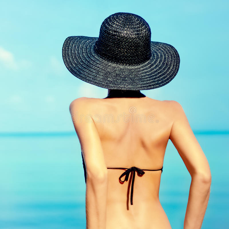 Download Woman on vacation stock photo. Image of feast, horizon - 31700524