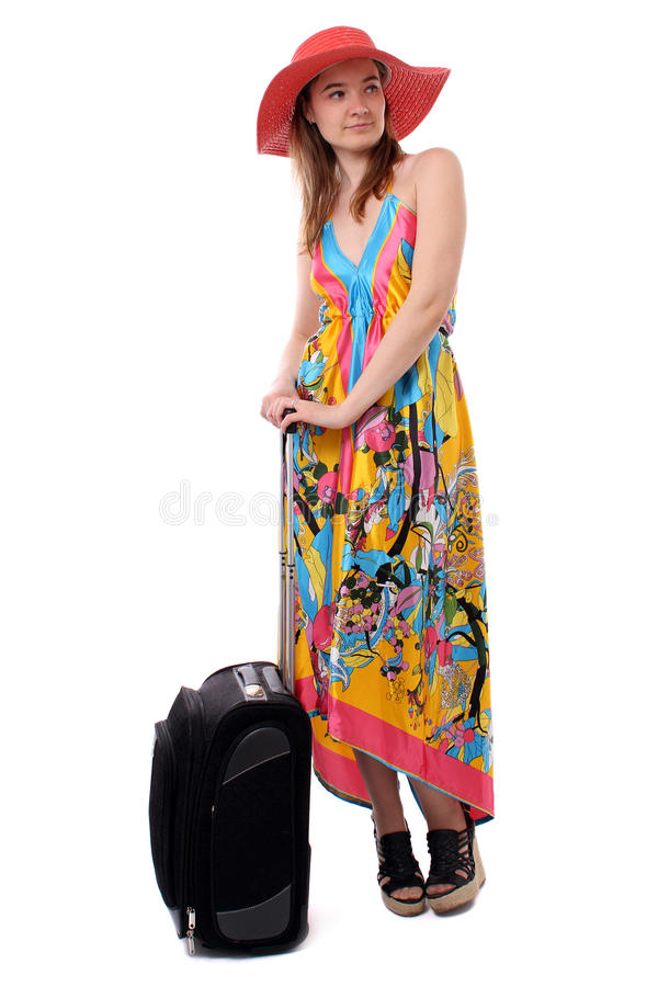 Download Woman Waiting For A Taxi Stock Photo - Image: 21443050