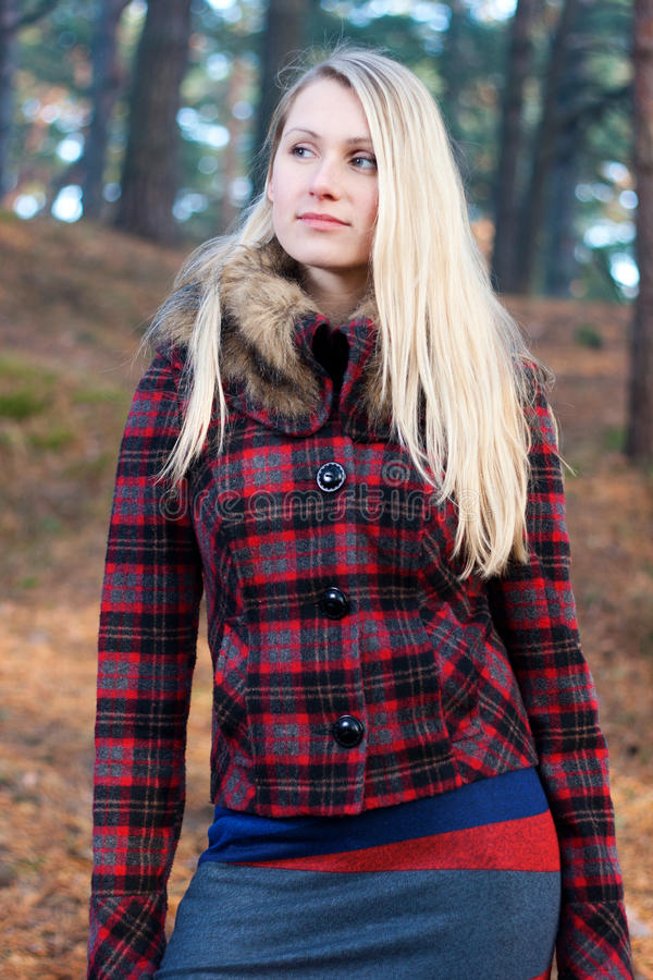 Free Woman Walk In The Woods Stock Photo - 22344690