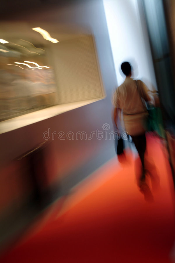 Woman walking stock images