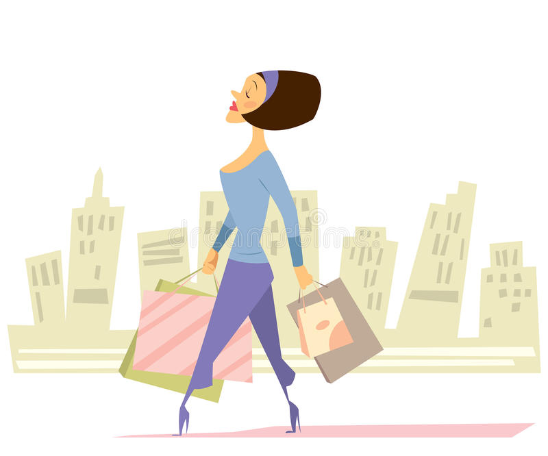 Download Woman Shopping Stock Images - Image: 30279734