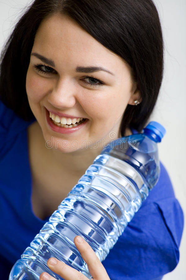Download Woman with water stock image. Image of woman, female - 18766759