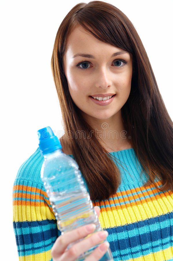 Download Woman And Water Royalty Free Stock Image - Image: 2811336