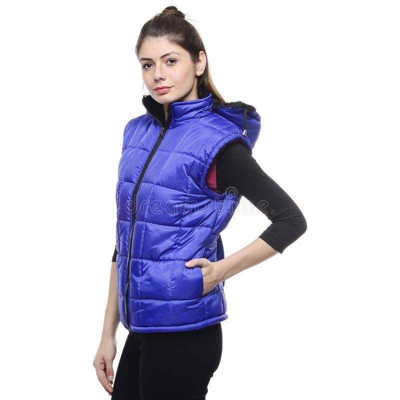 Woman Wearing Blue Zip Up Vest Free Public Domain Cc0 Image