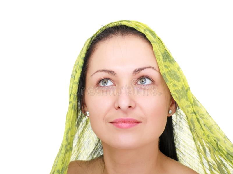 Download Woman Wearing A  Kerchief Stock Image - Image: 13334131