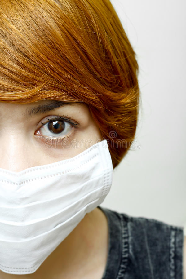 Download Woman Wearing Protective Mask Stock Photo - Image: 26034390