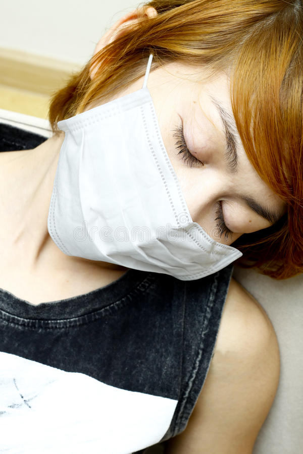 Download Woman Wearing Protective Mask Stock Photo - Image: 26034440