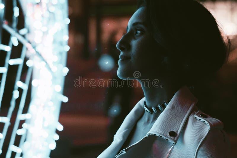 Woman Wearing White Coat Photo stock photos