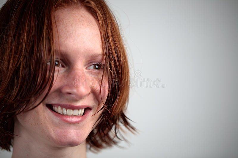 Download Woman with Wet Hair stock image. Image of female, beautiful - 13309189