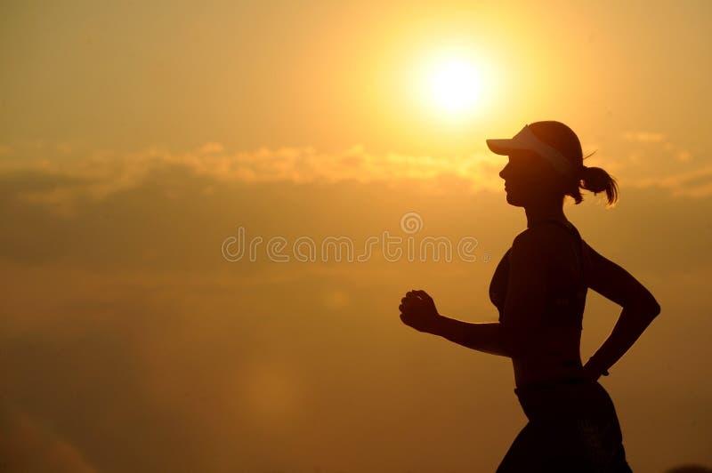 Woman With White Sunvisor Running Free Public Domain Cc0 Image