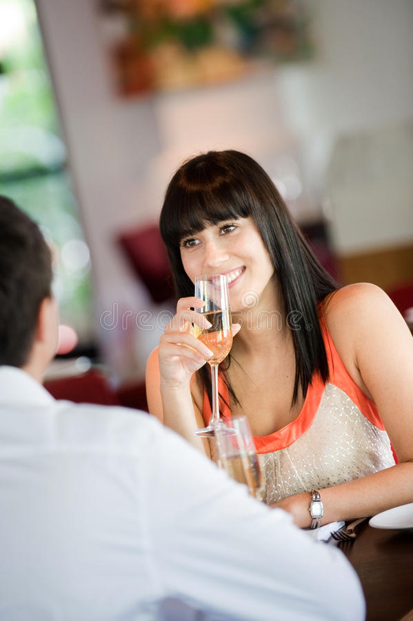 Download Woman with Wine stock photo. Image of attractive, champagne - 10917234