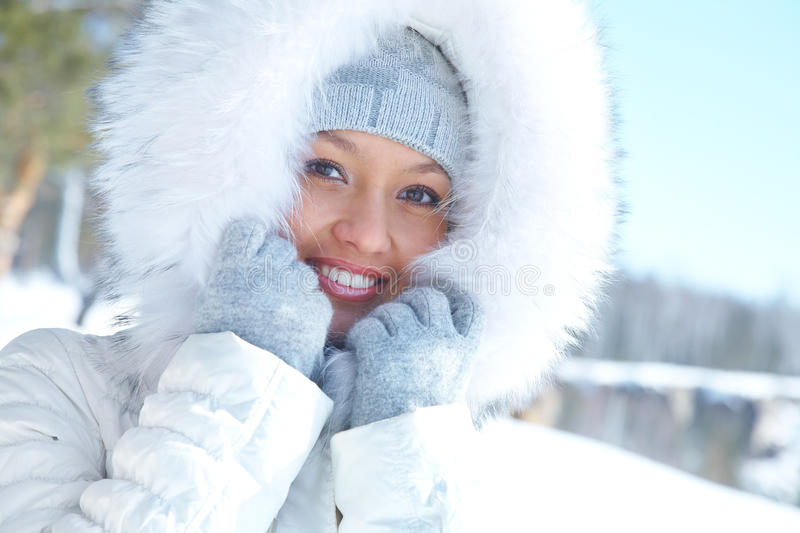 Download Woman in winter stock image. Image of female, gorgeous - 21930687