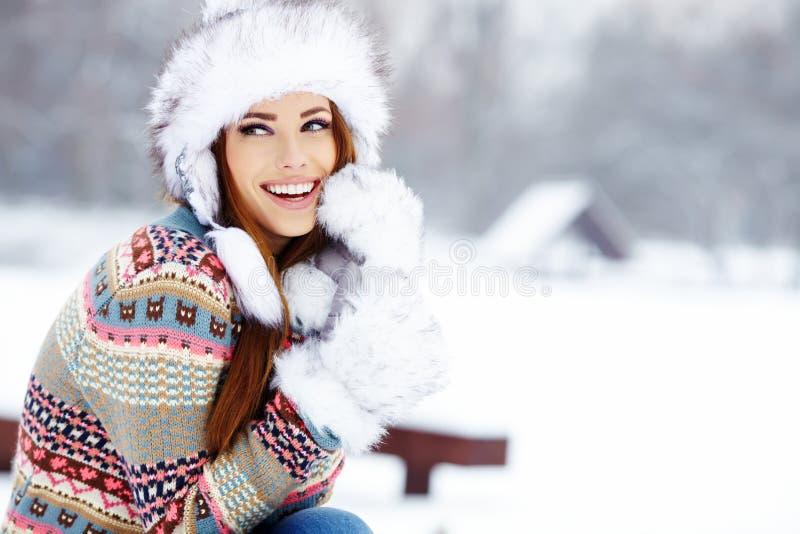 Download Woman Winter Portrait. Shallow Dof. Stock Image - Image: 28304201
