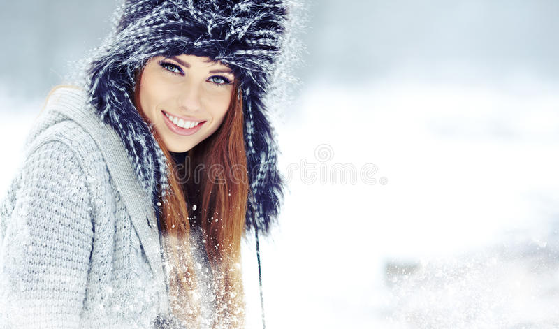 Download Woman Winter Portrait. Shallow Dof. Stock Image - Image: 28304275