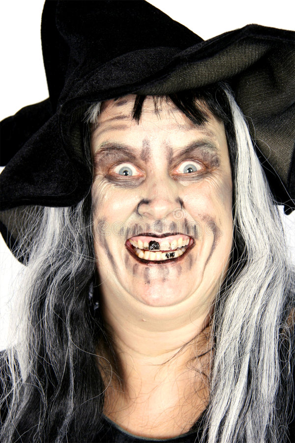 Woman Witch royalty free stock images