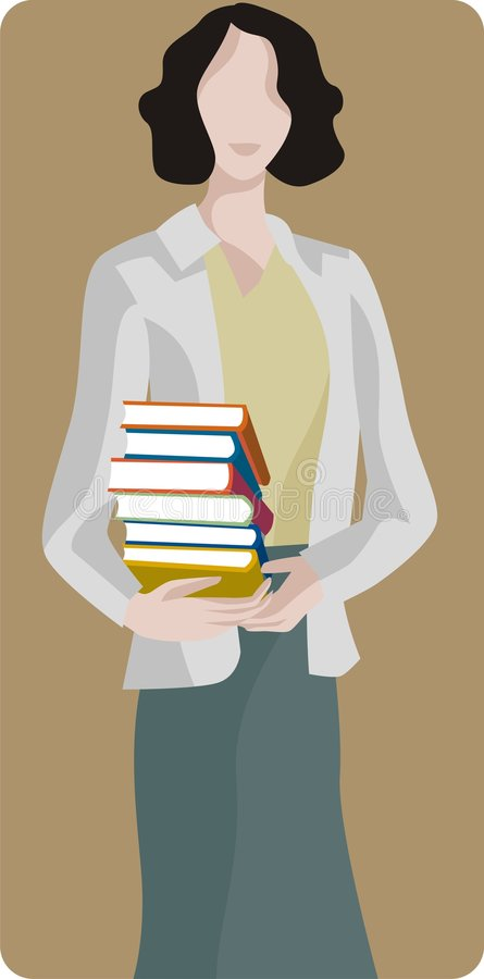 Free Woman With Books Stock Photos - 2003003