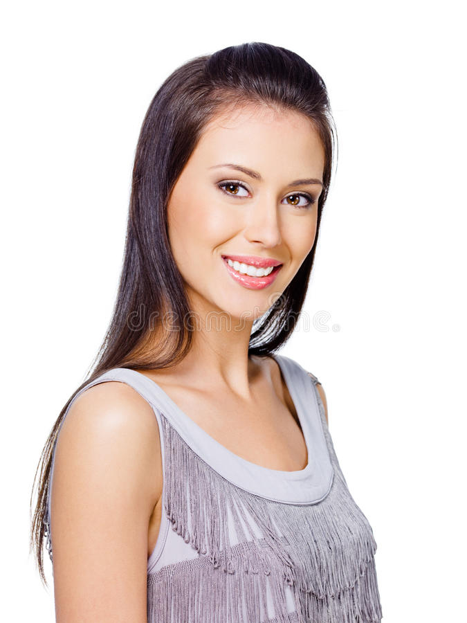 Free Woman With Cheerful Toothy Smile Stock Photography - 15057262