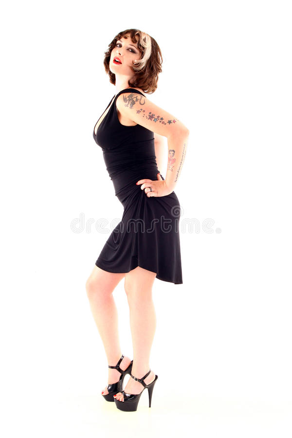 Free Woman With Tattoos Royalty Free Stock Photos - 20185588