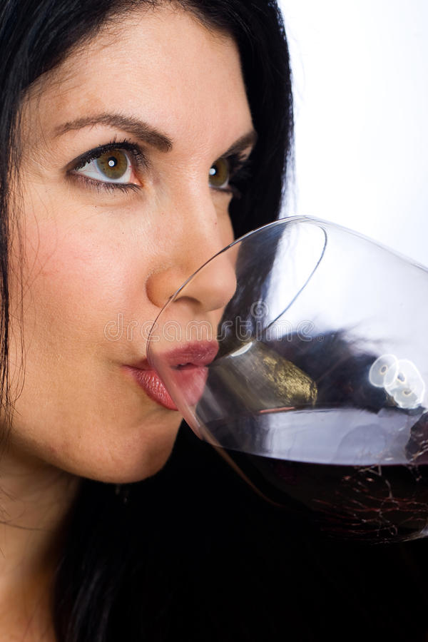 Free Woman With Wine Stock Photos - 22673813