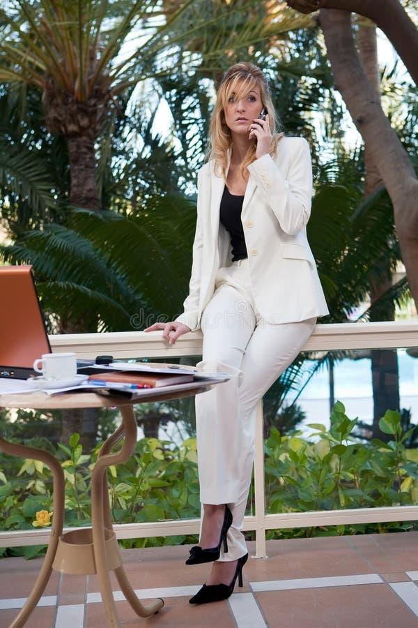 Woman work royalty free stock photo