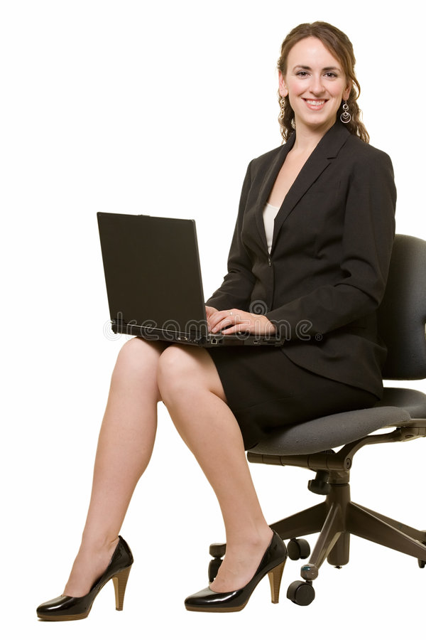 Download Woman working on laptop stock image. Image of women, wireless - 6848197