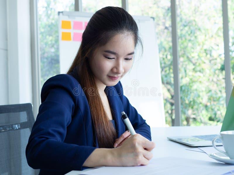 Woman write royalty free stock photos