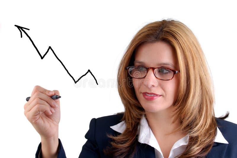 Woman Writing stock photos