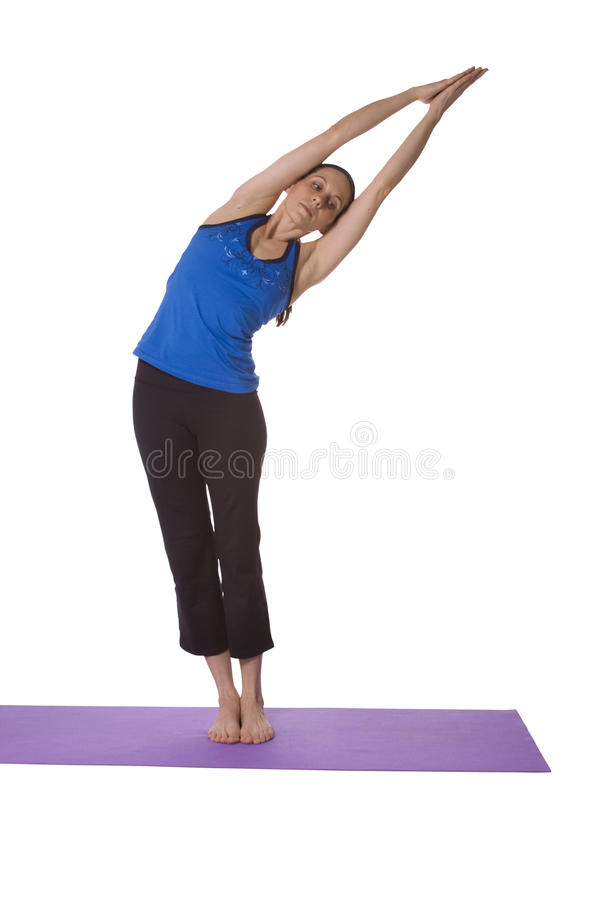 Download Woman in Yoga Position stock image. Image of harmony - 12125279