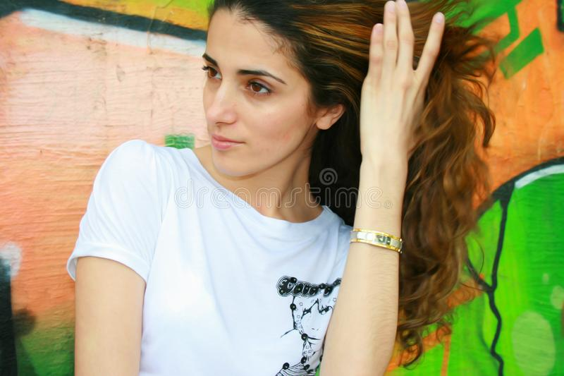 Woman young royalty free stock photos